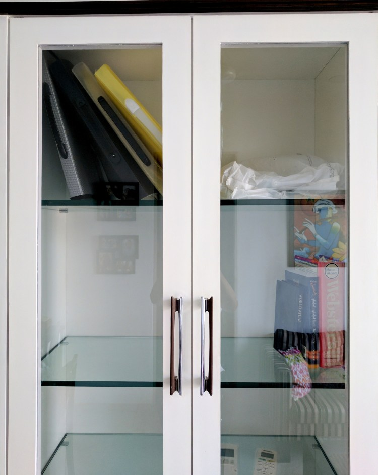 Home Office Design - Glass shutter