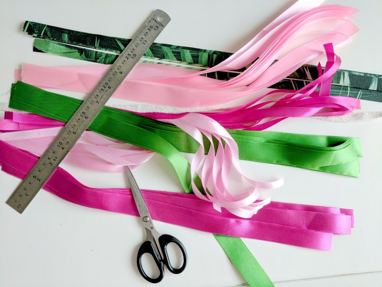 How to Make Ribbon Bunting in Easy Steps