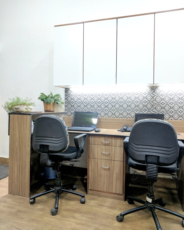 A Black And White Office Reveal
