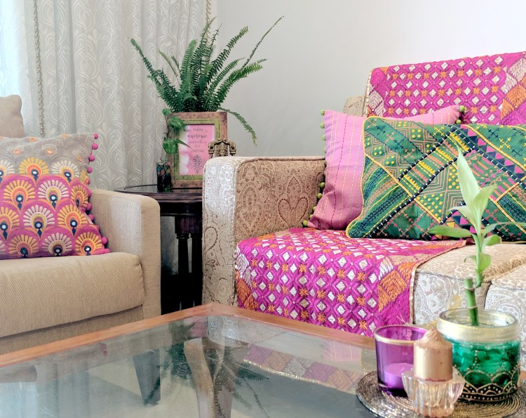 Festival Special: Sofa Styling With Cushions By VLiving • One Brick ...