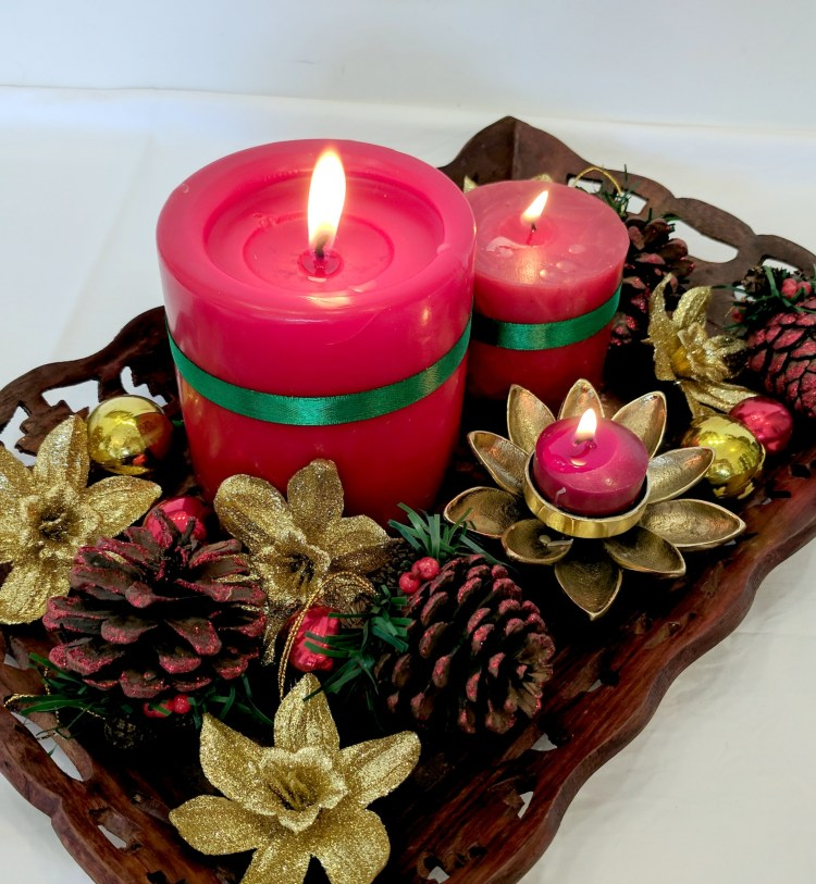5 Simple Christmas Candle Decor Ideas For You