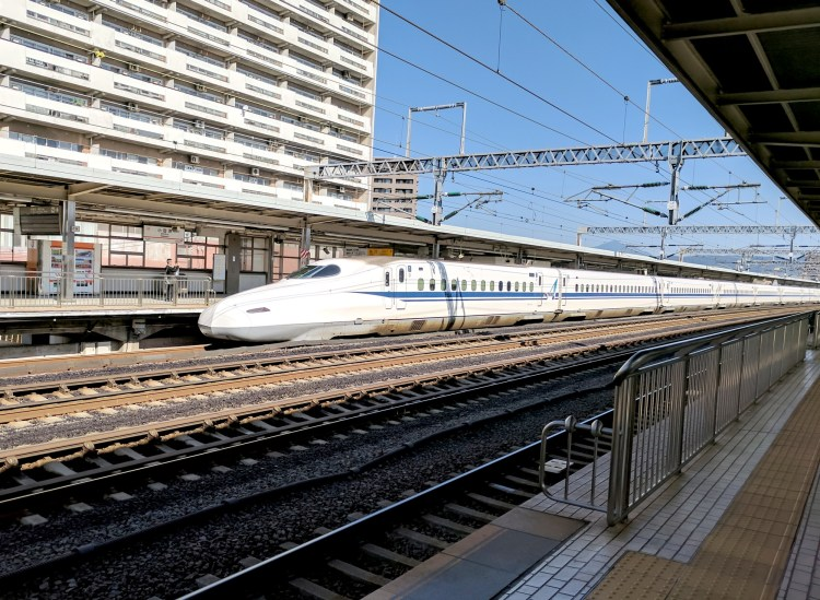 My Top 10 Amazing Experiences in Japan - Shinkansen