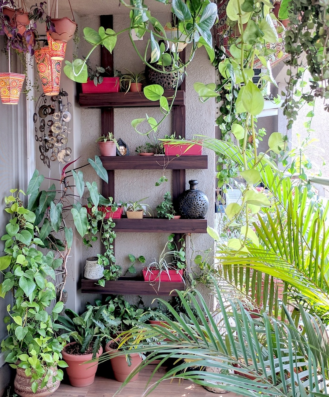 9 Awesome Ways To Up Your Balcony Wall Decor One Brick At A Time