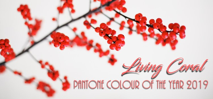 Decorating with Living Coral - Pantone Colour of the Year 2019