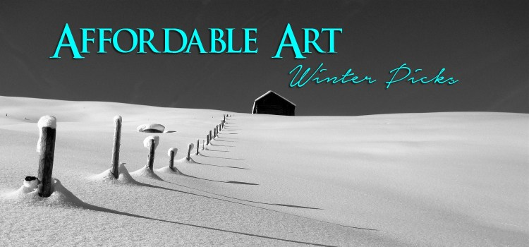 Affordable Art - Winter Paintings