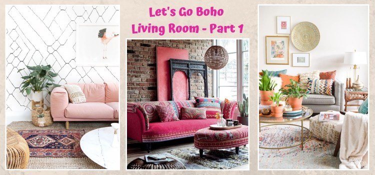 Lets Go Boho Living Room