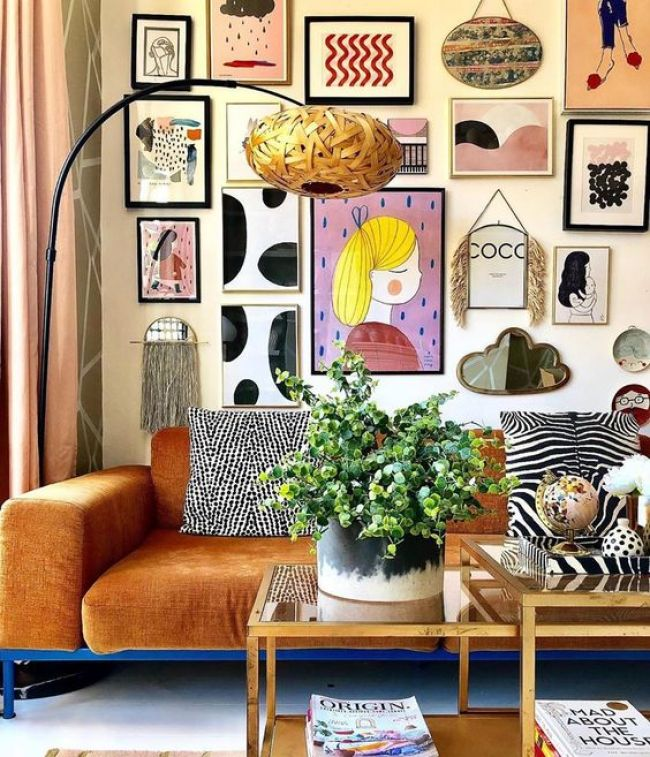 9 Beautiful Boho Wall Decor Ideas One Brick At A Time