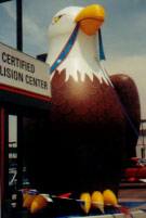 giant balloon - 25 ft. American Bald Eagle advertising balloon