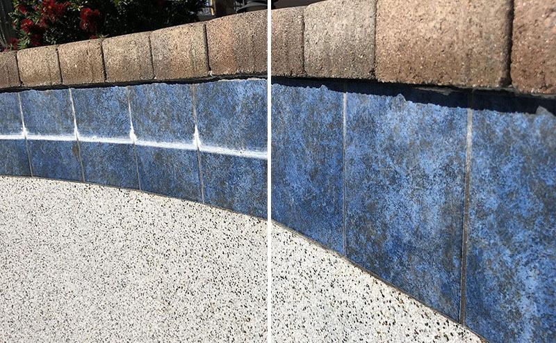 pool tile cleaning arizona bead