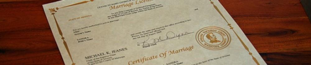 Pima County Marriage License Records