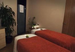Amara Spa Couples Treatment Room