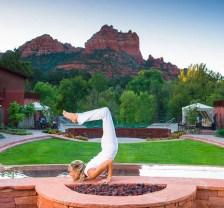 Amara Resort and Spa Outdoor Yoga