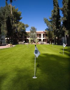 Scottsdale Plaza Resort Putting Green