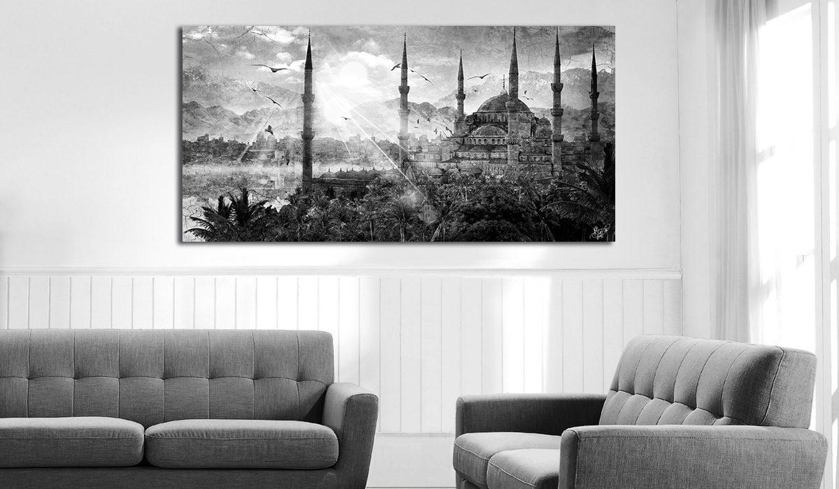 tableau-oriental mosquee istanbul