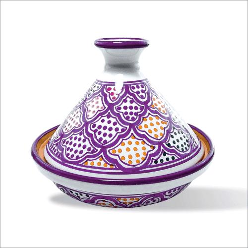 Poster oriental-tajine unitaire-violet