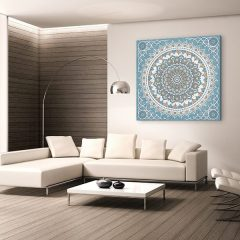 tableau arabe tapis perse