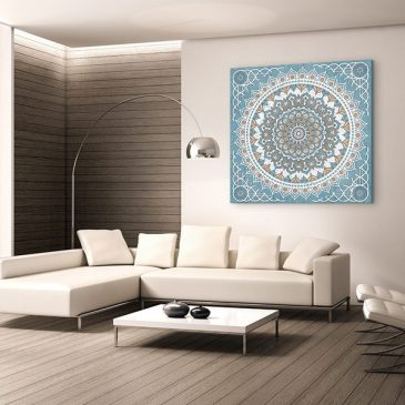 tableau arabe tapis perse