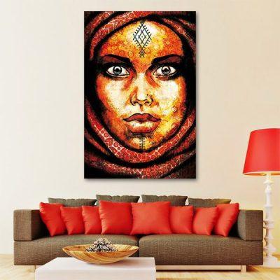 tableau-oriental-femme-berbere