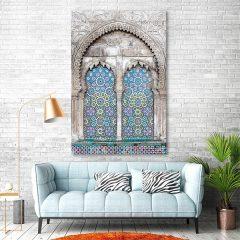 tableau arabe mosaique moderne