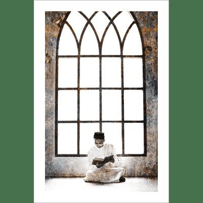 Poster islam-musulman mosquée-couleur