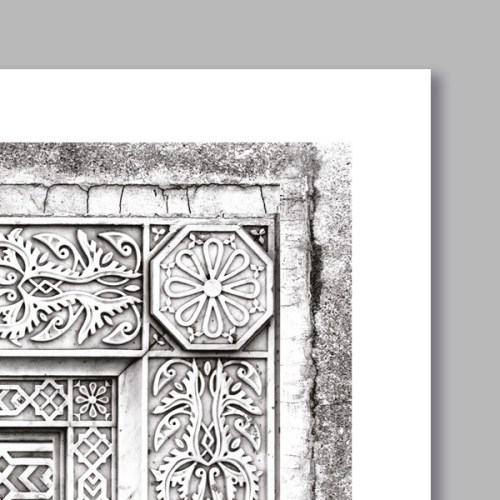 Poster oriental décor arabe-detail