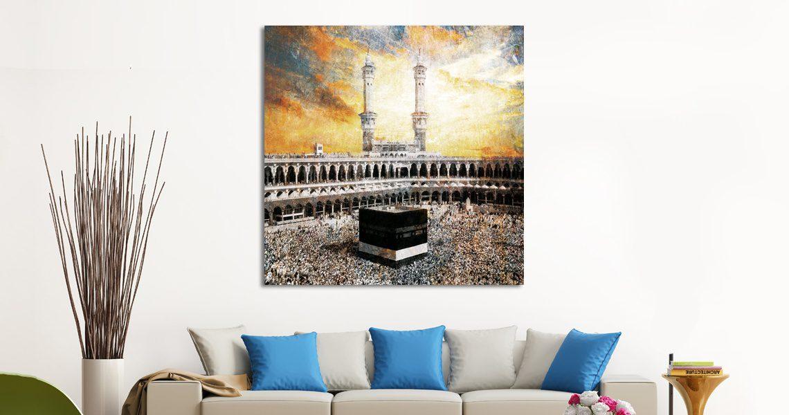 Tableau islam Kaaba