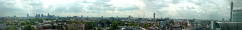 London Panoramic Photo