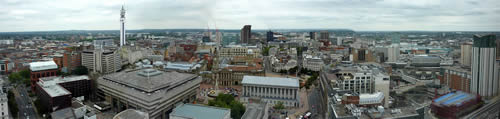 Birmingham Panorama East - click for full size