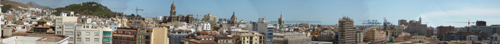 Malaga Panorama - click for full size