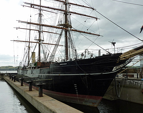 Discovery - Scott (of the Antarctic) ship
