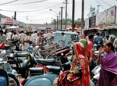 ark3 goa india 1993 mapusa market day