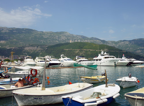 Budvar Harbour
