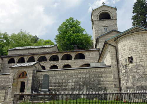 Monastery in Cisnije (the old capital)