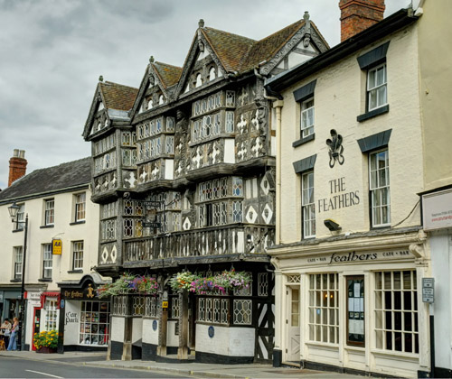 The Feathers In, Ludlow, Shropshire