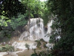 Kuang Si Waterfall and Bear Sanctuary