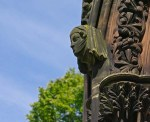 Lichfield Cathedral - carving detail