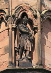Lichfield Cathedral - External Statue