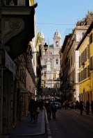 The Spanish Steps - from Via Condotti