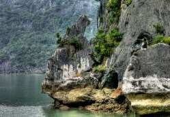 Halong Bay - rock formation