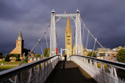 Inverness - The Wobbly Bridge