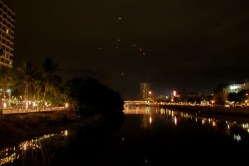Loy Kratong - Khom Loi over the Ping River