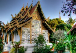 Wat Kate, Chiang Mai, 700 year old temple