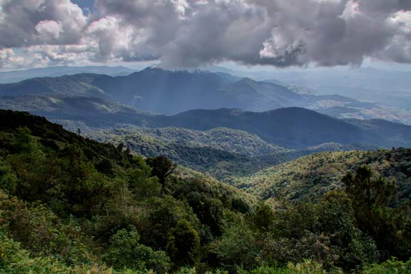 Doi Inthanon - view