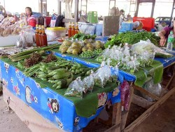 Thai Market - fresh vegetables