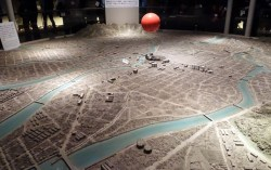 Hiroshima - scale of destruction map