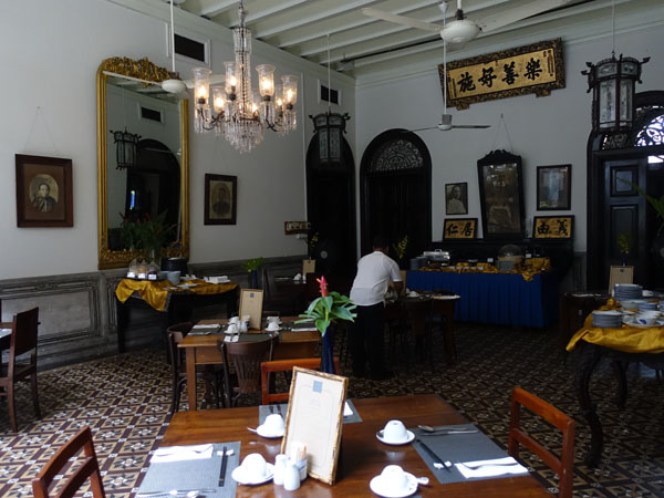 Penang - Cheong Fatt Tze Mansion, interior