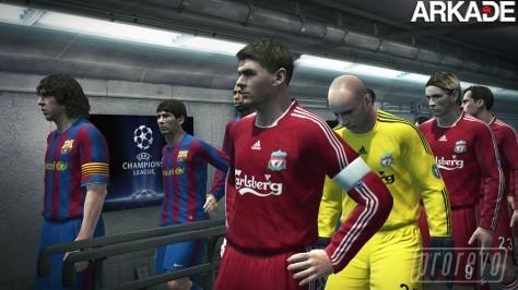 Download grátis da demo do Pro Evolution Soccer 2010
