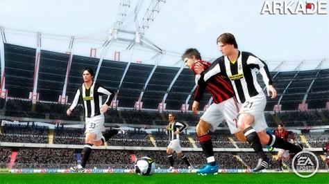 Fifa 10 promete melhora na física do jogo