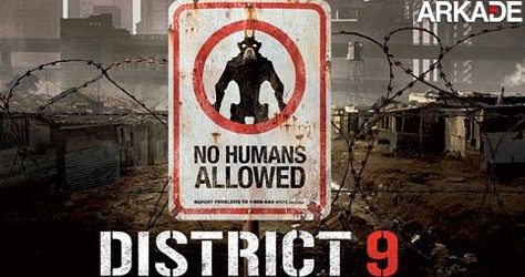Arkade indica: Distrito 9 coloca ETs como alvo de preconceito
