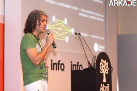 Marcelo Branco, da Campus Party Brasil, em Curitiba